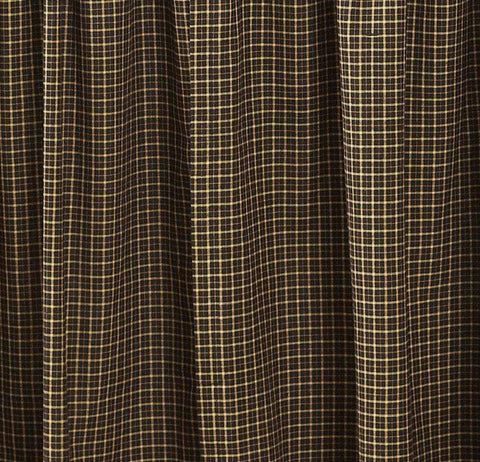 Kettle Grove Prairie Curtain - Retro Barn Country Linens - 2