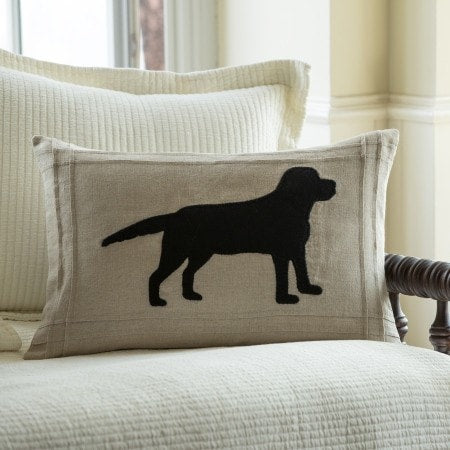 Farmhouse Silhouette Pillows - Retro Barn Country Linens - 5