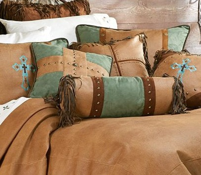 Las Cruces II Comforter Set - Retro Barn Country Linens - 5