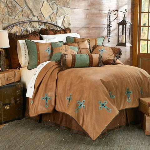 Las Cruces II Comforter Set - Retro Barn Country Linens - 1