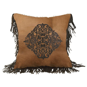 Las Cruces Embroidered Design Pillow