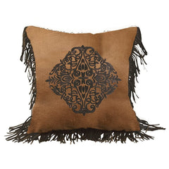 Las Cruces Embroidered Design Pillow - Retro Barn Country Linens