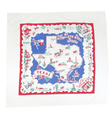 Lone Star State Tablecloth - Retro Barn Country Linens