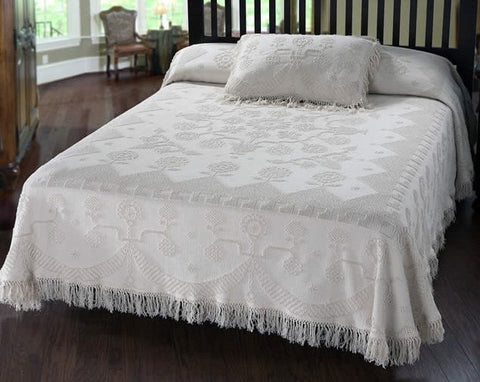 Martha Washington Bedspread - Retro Barn Country Linens - 1