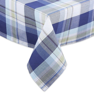 Lakeside Plaid Tablecloth