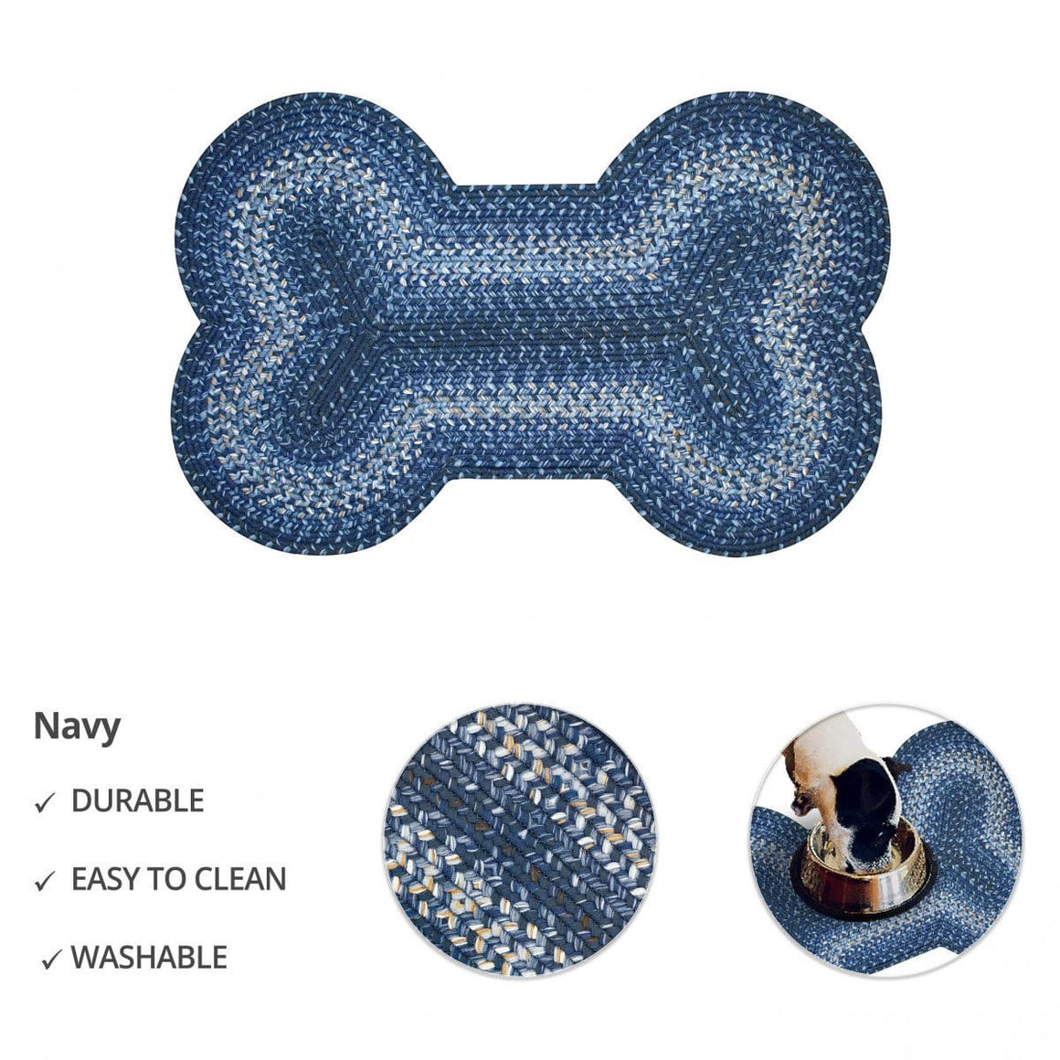 Ultra Durable Dog Bone Placemat