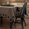 Navy Star Rectangle Tablecloth