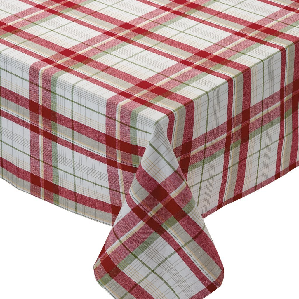 Orchard Plaid Tablecloth