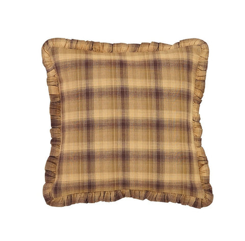 Prescott Fabric Toss Pillow - Retro Barn Country Linens