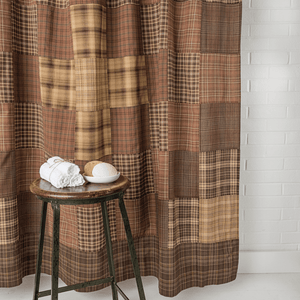 Prescott Patchwork Shower Curtain