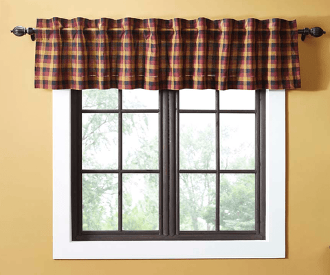 Primitive Check Valance