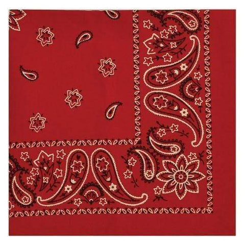 Red Bandana Napkin Set