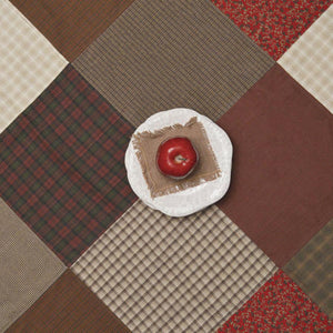Rosewood Patchwork Tablecloth