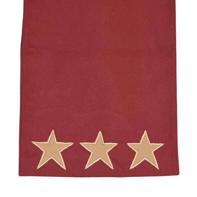 Rustic Star Table Runner