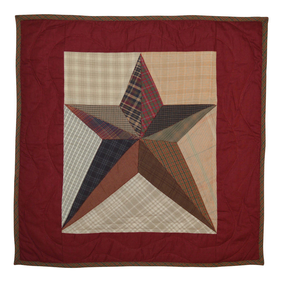 Scrappy Star Quilt Block
