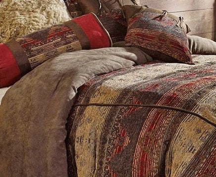 Sierra Comforter Set - Retro Barn Country Linens - 6