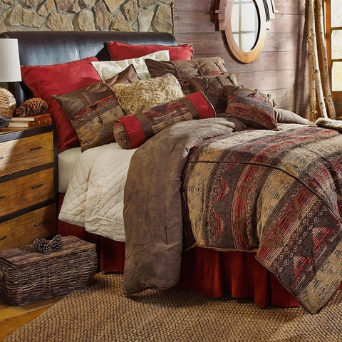 Sierra Comforter Set - Retro Barn Country Linens - 1