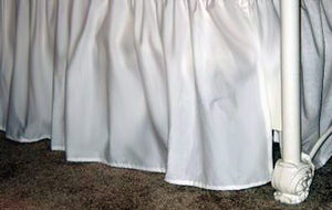 "Simply Solid Bedskirt 18"" - 21"""