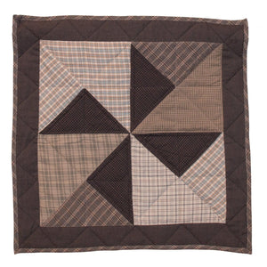 Summer Fieldstone Windmill Quilt Block