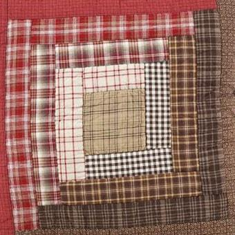 Tacoma Quilt - Retro Barn Country Linens - 4
