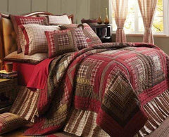 Tacoma Quilt - Retro Barn Country Linens - 1