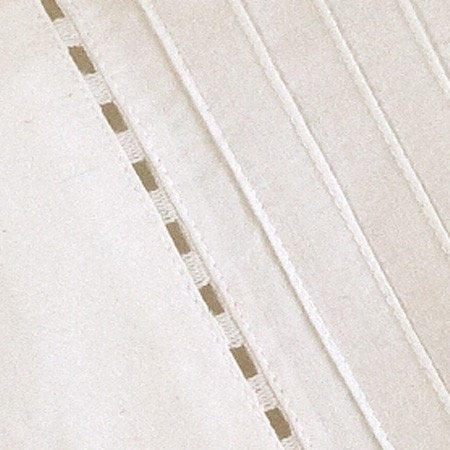 Tailored Pinefore Sheet Set in Cream - Retro Barn Country Linens - 3