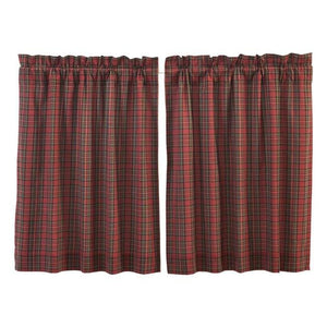Tartan Red Plaid Tier Set