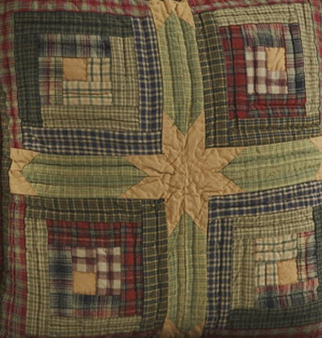 Tea Cabin Quilt - Retro Barn Country Linens - 3
