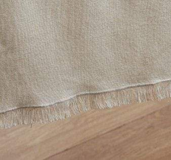 Tobacco Cloth Rustic Sheer Valance - Retro Barn Country Linens - 3