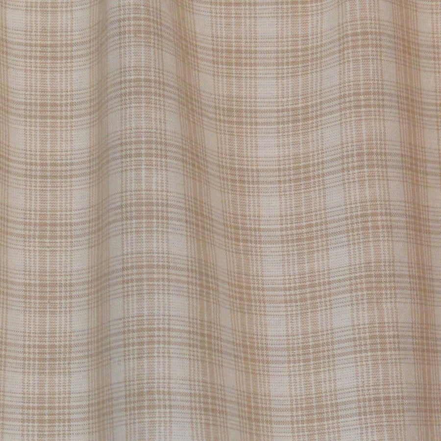 Wheaten Plaid Valance