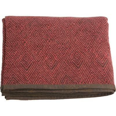 Wilderness Ridge Chenille Throw - Retro Barn Country Linens - 2