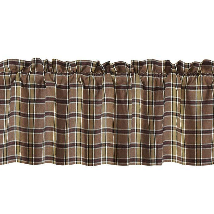 Wyatt Plaid Valance