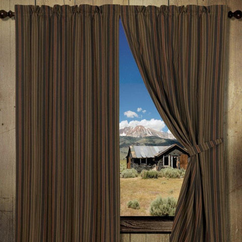 "Wilderness Ridge 84"" Curtain Panel - Retro Barn Country Linens - 1"