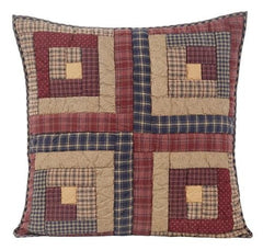 Millsboro Quilted Euro Sham - Retro Barn Country Linens