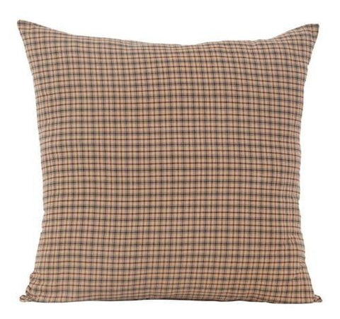 Millsboro Fabric Euro Sham - Retro Barn Country Linens