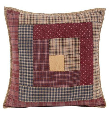 Millsboro Quilted Toss Pillow - Retro Barn Country Linens