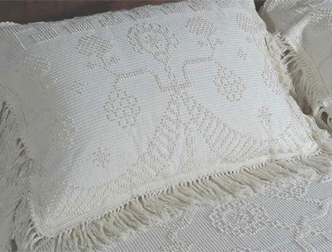 Martha Washington King Sham - Retro Barn Country Linens - 1