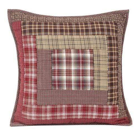 Tacoma Quilted Toss Pillow - Retro Barn Country Linens