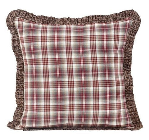 Tacoma Fabric Toss Pillow - Retro Barn Country Linens