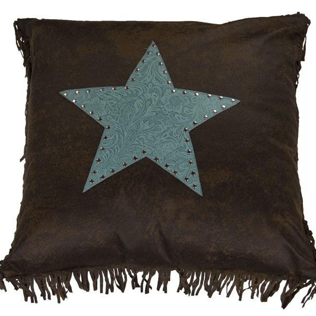 Cheyenne Turquoise Star Pillow