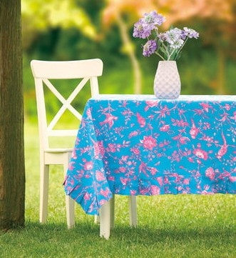 Colette Toile Tablecloth - Retro Barn Country Linens
