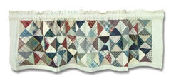 Kaleidoscope Patchwork Valance - Retro Barn Country Linens