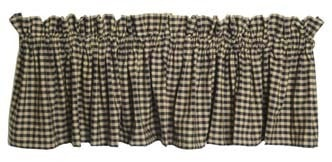 Homespun Valance - Retro Barn Country Linens - 8