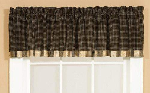 Kettle Grove Patchwork Border Valance