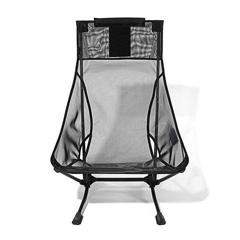 Beach Chair Home / Black Mesh