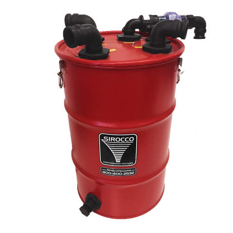 Vacuum Waste Tank with Auto Pump-Out (30 gal)