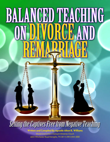 Balanced Teaching on Divorce and Remarriage
