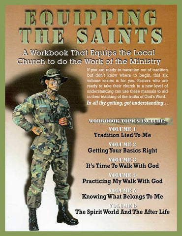 Equipping the Saints Workbooks, Volumes 1-6