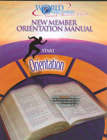 New Member Orientation Manual