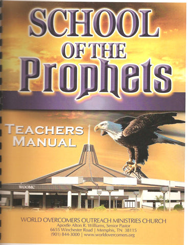 School of the Prophets Teacher Manual